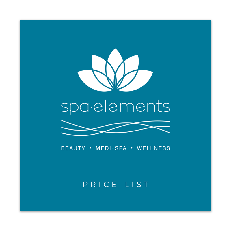 Spa Elements | Price List